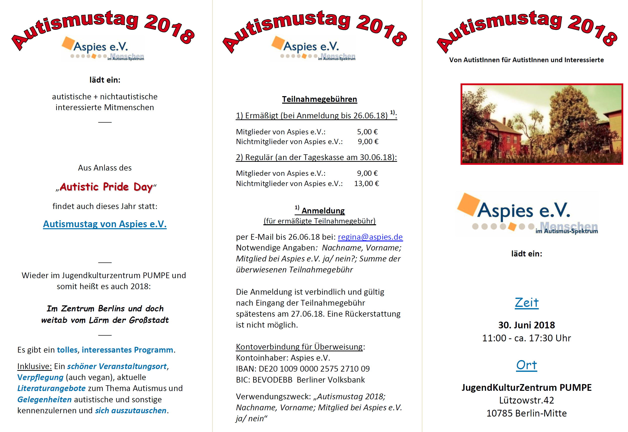 Autismustag 2018